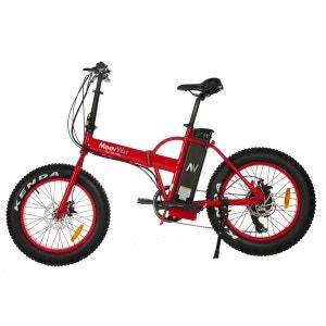 Vélo électrique MOOVWAY Fat Bike rouge MOOVWAY