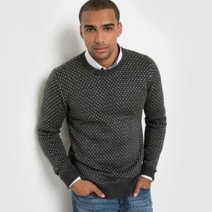 Sweter w melanżowe groszki R édition