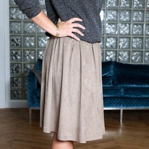 Skirt with Box Pleats ENJOYPHOENIX POUR LA REDOUTE