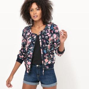Floral Print Zip-Up Jacket MOLLY BRACKEN