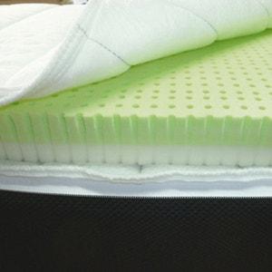 Topdekmatras bi-comfort, met vormbehoudende mousse + latex - afhoesbaar REVERIE