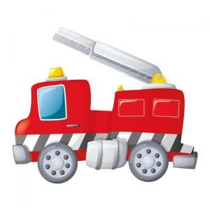 Sticker Camion de Pompier & Échelle Rangée DECOLOOPIO