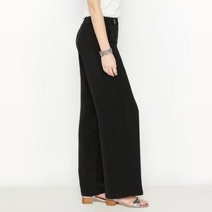 DrapedCrêpe Wide Leg Trousers ANNE WEYBURN