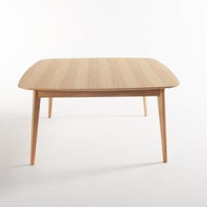 Mesa quadrada em carvalho, 8 pessoas, Biface La Redoute Interieurs