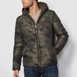 Hooded Padded Jacket PETROL INDUSTRIES