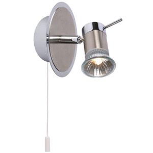 Luminaire salle de bain la redoute for Spot avec interrupteur salle de bain
