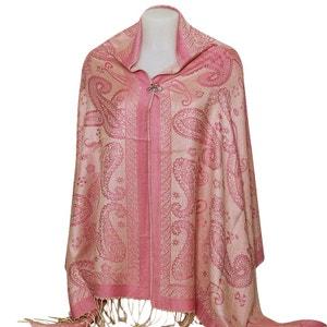 Etole style pashmina rose tendre CHAPEAU-TENDANCE