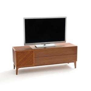 Mueble TV fresno tintado 140 cm Medina