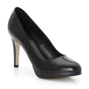 Sapatos pontiagudos com patim em pele JONAK