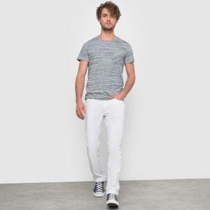 Pure Cotton Slim-Fit 5-Pocket Zip-Fly Trousers R édition