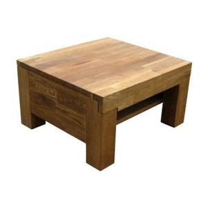 Table de chevet chêne massif INDIA DECLIKDECO