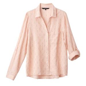 Bedrukt hemd met hemdskraag VERO MODA