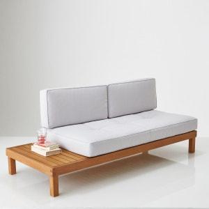 Banco cama de jardín de eucalipto, Chann