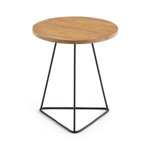 Beistelltisch KURI, Tischplatte aus Eiche La Redoute Interieurs