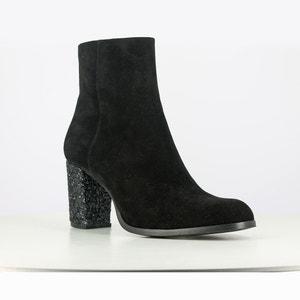 Boots cuir à talon Dareios JONAK