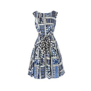 Bedrukte jurk RENE DERHY