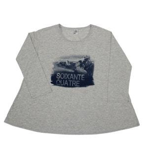 Tee-Shirt Femme Plage Basque 64