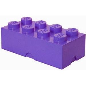 Boîte lego géante rangement 8 plots prune LEGO