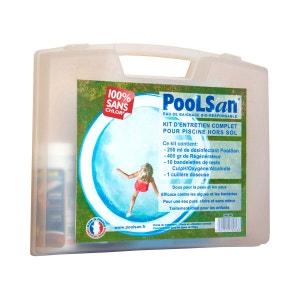 Kit de traitement sans chlore pour piscine de 5 à 20 m³ POOLSTYLE