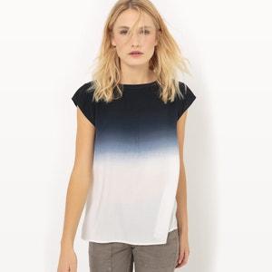 Tie Dye Short-Sleeved Blouse SUD EXPRESS