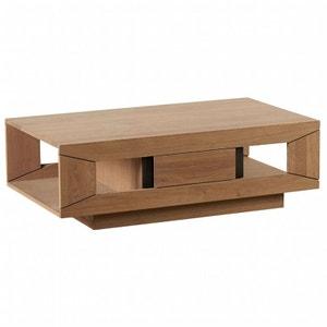 Table basse chêne massif 1 tiroir DARIO PIER IMPORT
