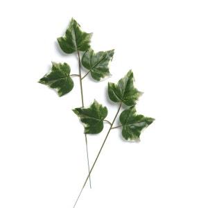 Branche 3 feuilles de lierre panache artificiel X6 H 43 cm D 22 cm superbe ARTIF-DECO