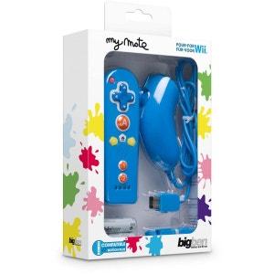 Mini duo My Mote bleu  Manette Nunchuck+ Télécommande sans fil BIG BEN