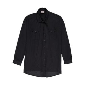 Bluzka koszulowa z wiązaniem przy szyi VERO MODA