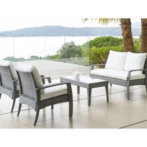 Salon de jardin - Table, chaises en solde Hesperide | La Redoute