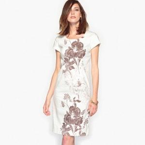 Vestido de satén de algodón stretch ANNE WEYBURN