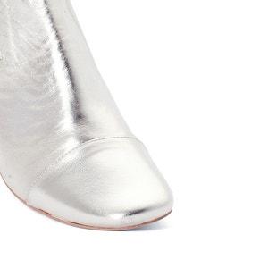 Boots cuir métallisé Ame JONAK