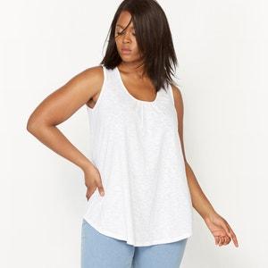 Camiseta sin mangas con espalda de encaje CASTALUNA