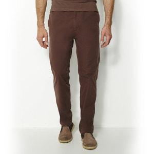 Elastische broek in stof van zuiver katoen CASTALUNA FOR MEN
