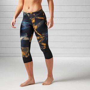 Short Printed Sports Leggings REEBOK
