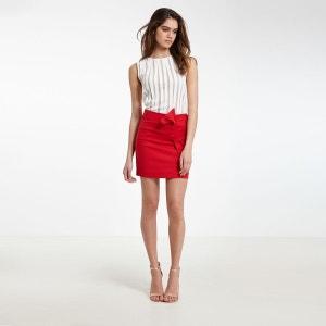 Mini jupe rouge la redoute - Reduction la redoute prix rouge ...