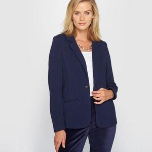 Piqué Knit Jacket ANNE WEYBURN