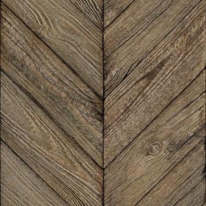 Papier peint Chevrons bois ancestral KOZIEL