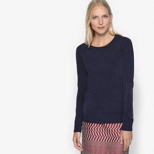 Пуловер с круглым вырезом, из тонкого трикотажа ANNE WEYBURN