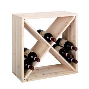 Casier à bouteilles de vin cube croix  zeller ZELLER PRESENT