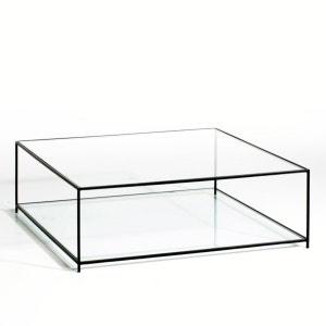 Table basse carrée verre trempé, Sybil AM.PM