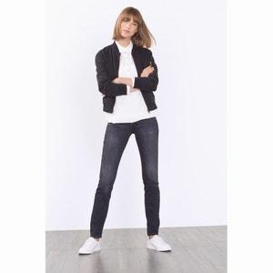 Jeans direitos desbotados ESPRIT