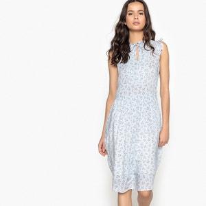 Gerades, ärmelloses Kleid mit Blumenprint MADEMOISELLE R
