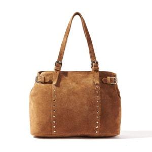 Skórzana torebka do ręki R essentiel