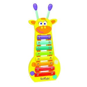 Xylophone en bois : girafe BOIKIDO
