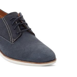 Zapatos derbies de nobuk Franson Plain CLARKS