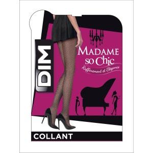 Collant Madame So Chic effet voile bijou15 Deniers DIM