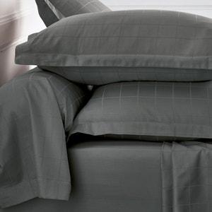 Наволочка на подушку-валик в крупную клетку La Redoute Interieurs