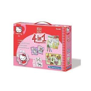 Puzzle 60 pièces : Coffret Edukit 4 en 1 Hello Kitty SANRIO