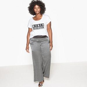 Women Evolution Slogan T-Shirt CASTALUNA