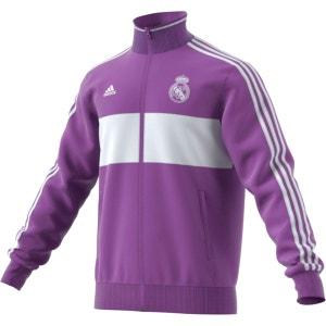 Veste zippée à col montant Real Madrid adidas